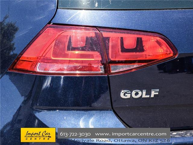 2015 Volkswagen Golf 2.0 TDI Comfortline (Stk: 028084) in Ottawa - Image 8 of 30