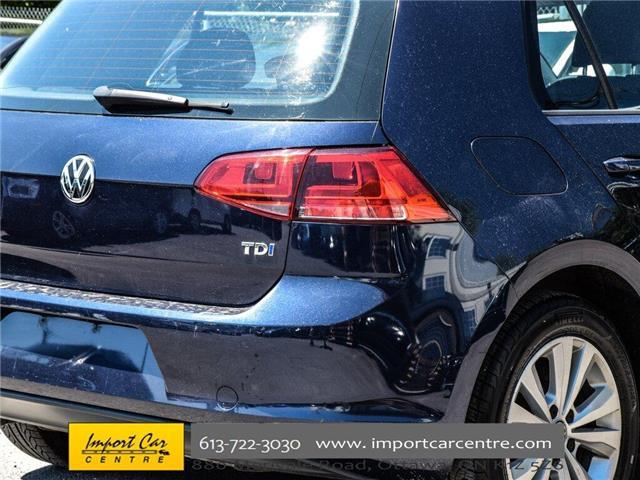 2015 Volkswagen Golf 2.0 TDI Comfortline (Stk: 028084) in Ottawa - Image 9 of 30