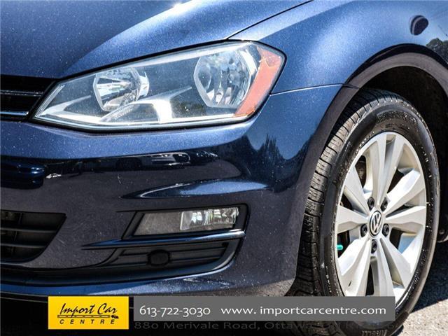2015 Volkswagen Golf 2.0 TDI Comfortline (Stk: 028084) in Ottawa - Image 10 of 30