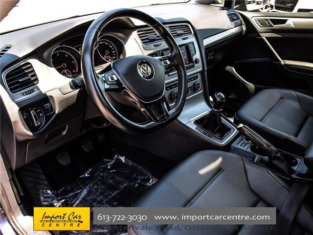 2015 Volkswagen Golf 2.0 TDI Comfortline (Stk: 028084) in Ottawa - Image 13 of 30