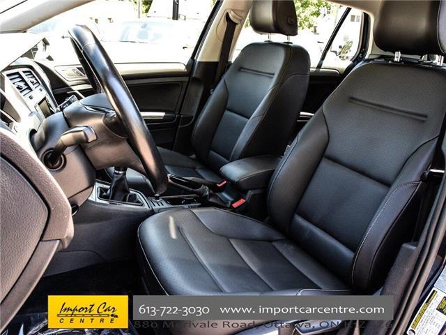 2015 Volkswagen Golf 2.0 TDI Comfortline (Stk: 028084) in Ottawa - Image 14 of 30