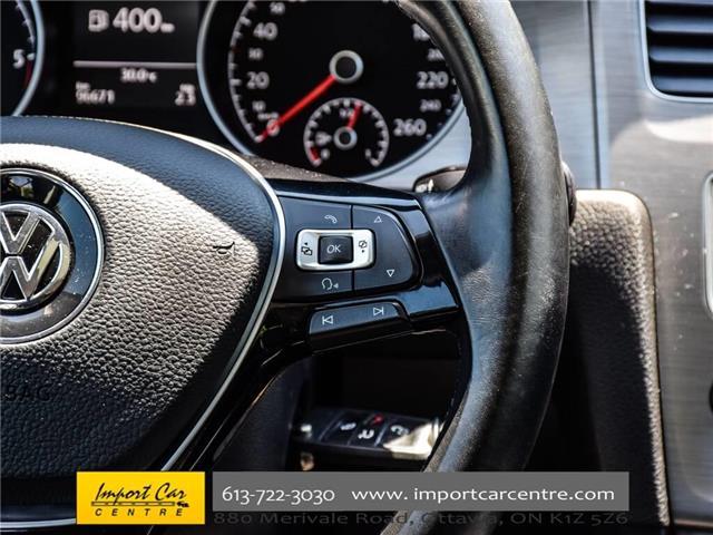 2015 Volkswagen Golf 2.0 TDI Comfortline (Stk: 028084) in Ottawa - Image 19 of 30
