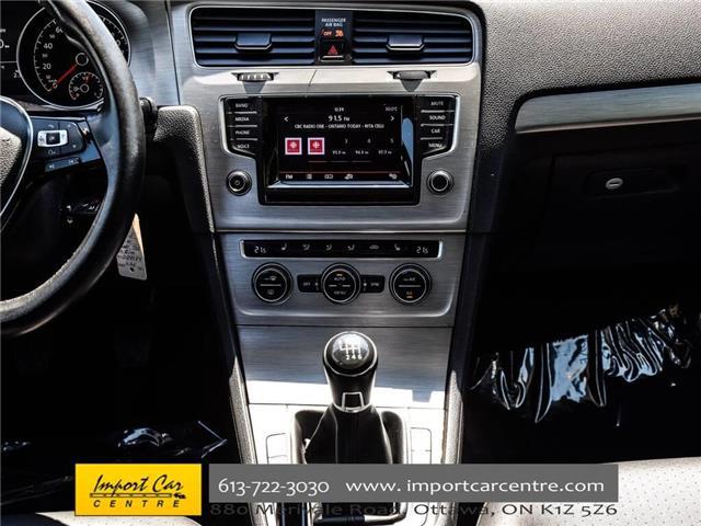 2015 Volkswagen Golf 2.0 TDI Comfortline (Stk: 028084) in Ottawa - Image 24 of 30