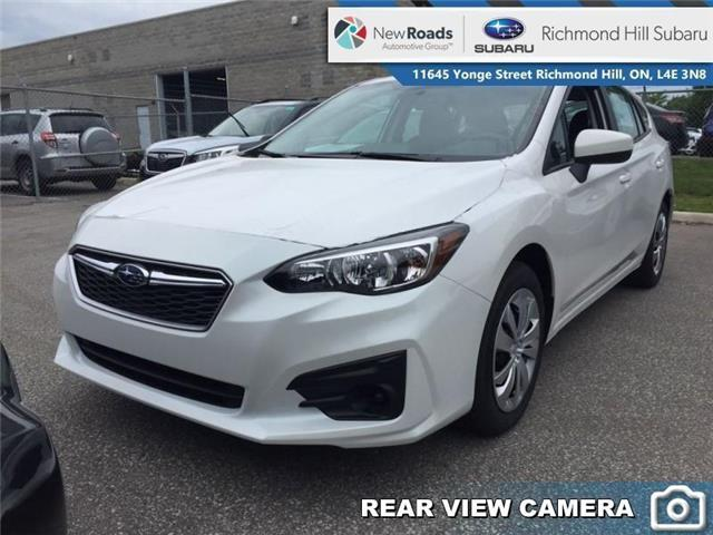 2019 Subaru Impreza 5-dr Convienence MT (Stk: 32725) in RICHMOND HILL - Image 1 of 22
