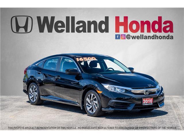 2016 Honda Civic EX (Stk: U6643A) in Welland - Image 1 of 22
