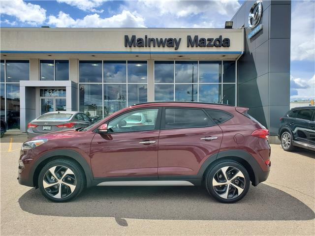 2017 Hyundai Tucson SE (Stk: P1562A) in Saskatoon - Image 1 of 26