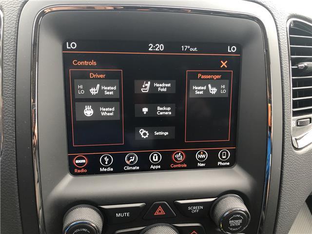 2018 Dodge Durango GT (Stk: T18-145A) in Nipawin - Image 17 of 25