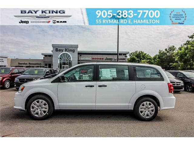 2019 Dodge Grand Caravan CVP/SXT (Stk: 193588) in Hamilton - Image 2 of 20