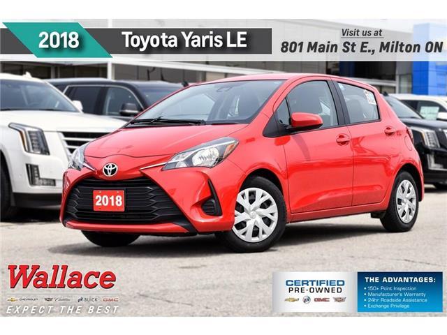 2018 Toyota Yaris LE/HTD SEATS/REAR CAMRA/6.1-INCH SCRN/AC/BLUETH (Stk: PR5079) in Milton - Image 1 of 24