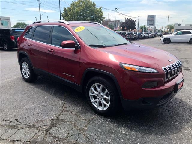 2017 Jeep Cherokee North (Stk: 19642A) in Windsor - Image 1 of 13