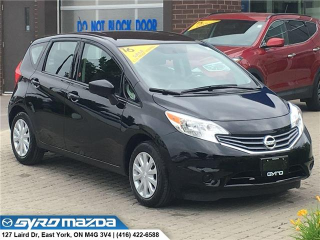 2016 Nissan Versa Note 1.6 S (Stk: 28281A) in East York - Image 1 of 30