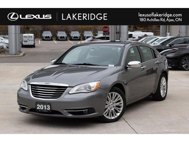 2013 Chrysler 200 Limited (Stk: L19366A) in Toronto - Image 1 of 25