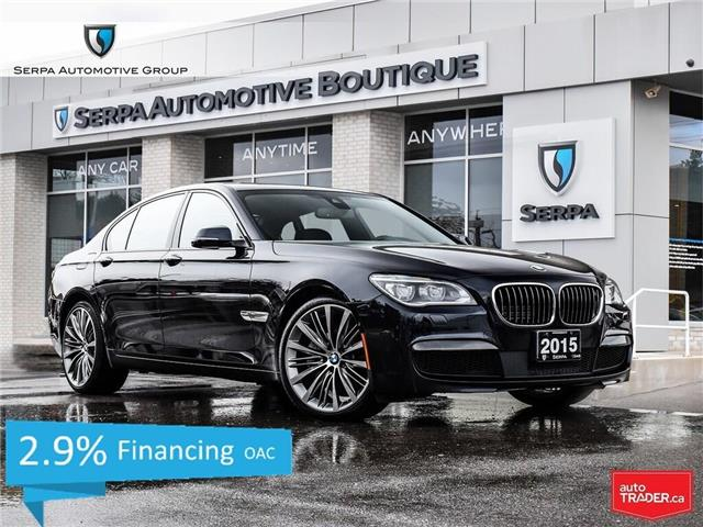 2015 BMW 750  (Stk: P1051) in Aurora - Image 1 of 28
