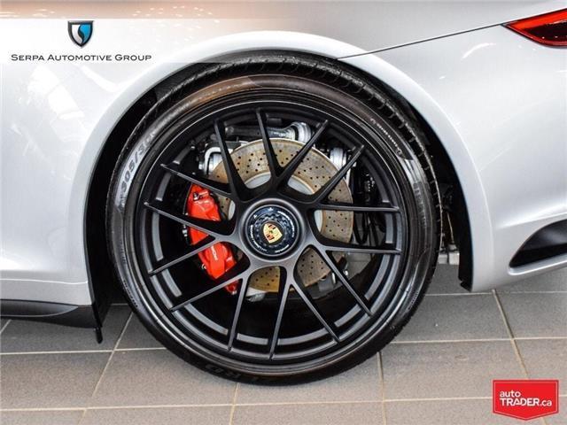 2019 Porsche 911 Carrera 4 GTS (Stk: P1285) in Aurora - Image 13 of 30