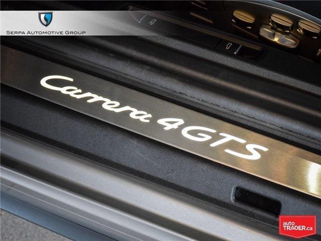 2019 Porsche 911 Carrera 4 GTS (Stk: P1285) in Aurora - Image 27 of 30