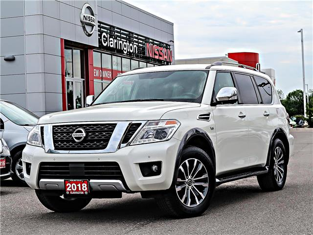 2018 Nissan Armada SL (Stk: J9556636) in Bowmanville - Image 1 of 30