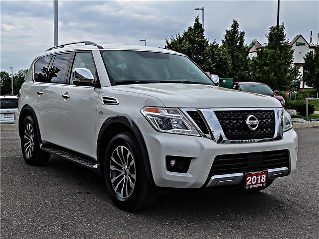 2018 Nissan Armada SL (Stk: J9556636) in Bowmanville - Image 3 of 30