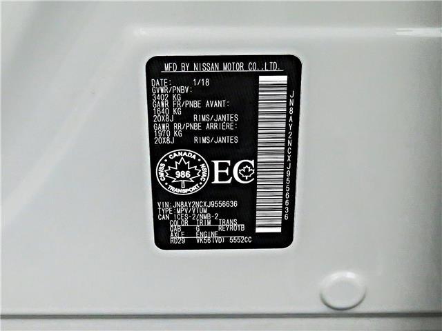2018 Nissan Armada SL (Stk: J9556636) in Bowmanville - Image 29 of 30