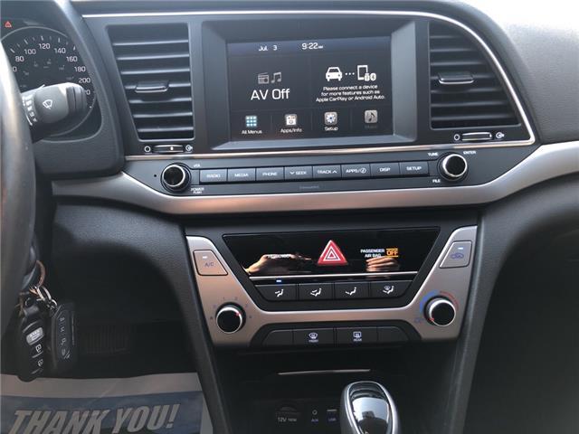 2018 Hyundai Elantra GL (Stk: -) in Kemptville - Image 17 of 27