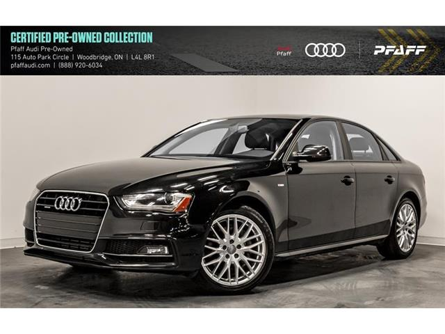 2015 Audi A4 2.0T Komfort (Stk: C6863) in Woodbridge - Image 1 of 22