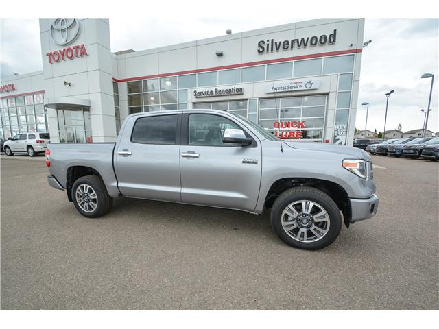 2019 Toyota Tundra Platinum 5.7L V8 (Stk: TUK009) in Lloydminster - Image 1 of 18