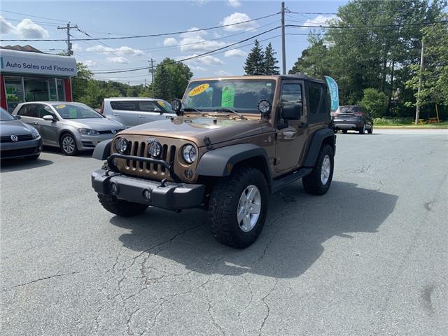 2015 Jeep Wrangler Sport (Stk: ) in Lower Sackville - Image 1 of 15