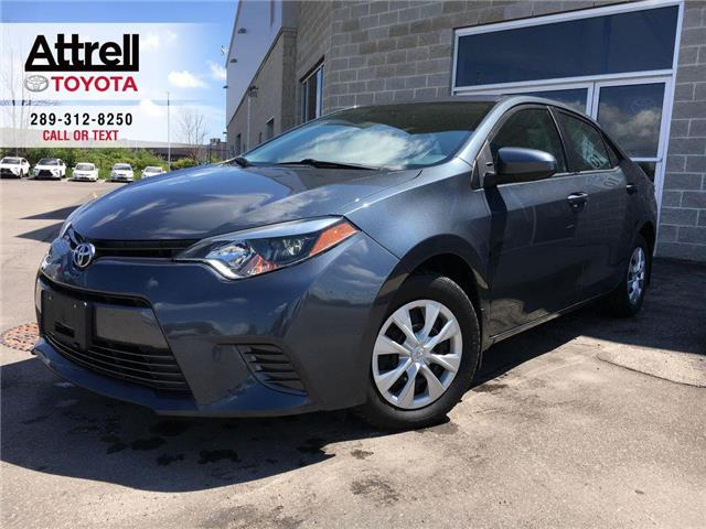 2015 Toyota Corolla LE ECO KEYLESS, HEATED SEATS, SPOILER, BACKUP CAME (Stk: 44575A) in Brampton - Image 1 of 24