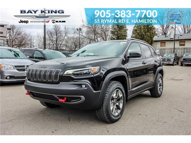 2019 Jeep Cherokee Trailhawk (Stk: 197612) in Hamilton - Image 1 of 23