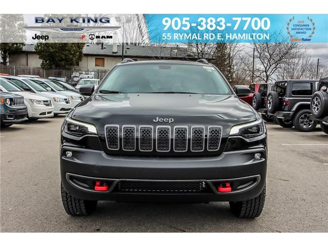 2019 Jeep Cherokee Trailhawk (Stk: 197612) in Hamilton - Image 2 of 23