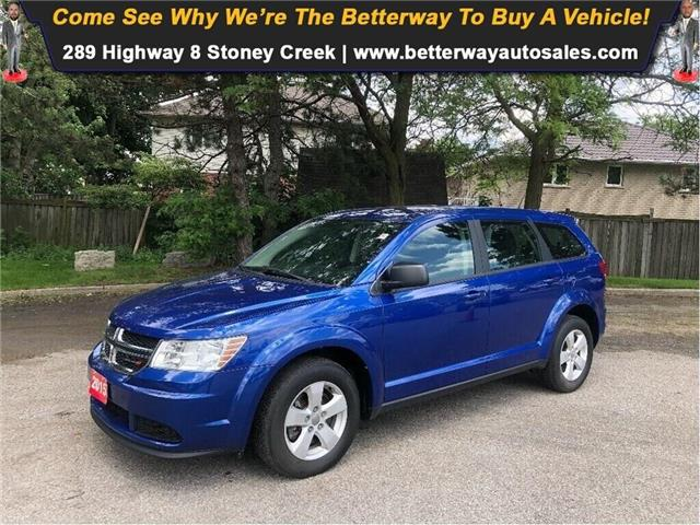 2015 Dodge Journey Canada Value Pkg| B-Tooth| 7 Seats (Stk: 5320) in Stoney Creek - Image 1 of 21