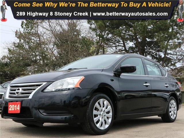 2014 Nissan Sentra S| B-Tooth| Keyless Ent| PWR Options| Gas Saver! (Stk: 5277A) in Stoney Creek - Image 1 of 19