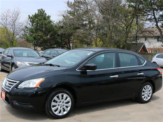 2014 Nissan Sentra S| B-Tooth| Keyless Ent| PWR Options| Gas Saver! (Stk: 5277A) in Stoney Creek - Image 2 of 19