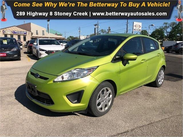 2011 Ford Fiesta SE| B-Tooth| Heat Seat| Gas Saver! (Stk: 5393) in Stoney Creek - Image 1 of 17