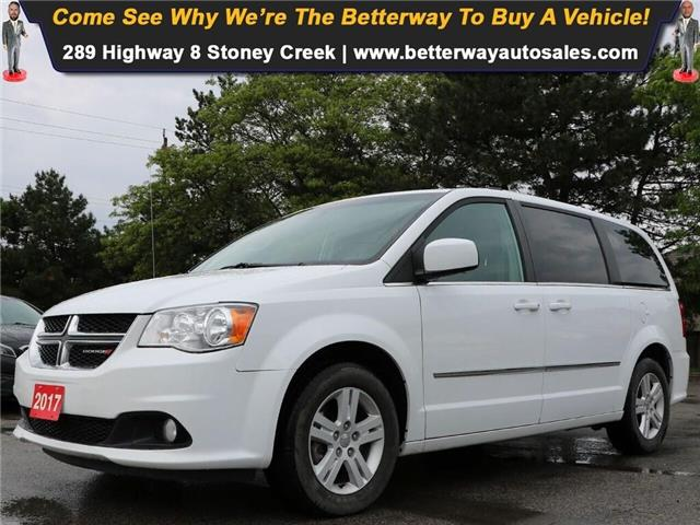 2017 Dodge Grand Caravan Crew| Navi| DVD| Leather| 3rd Row| Loaded! (Stk: 5400) in Stoney Creek - Image 1 of 19