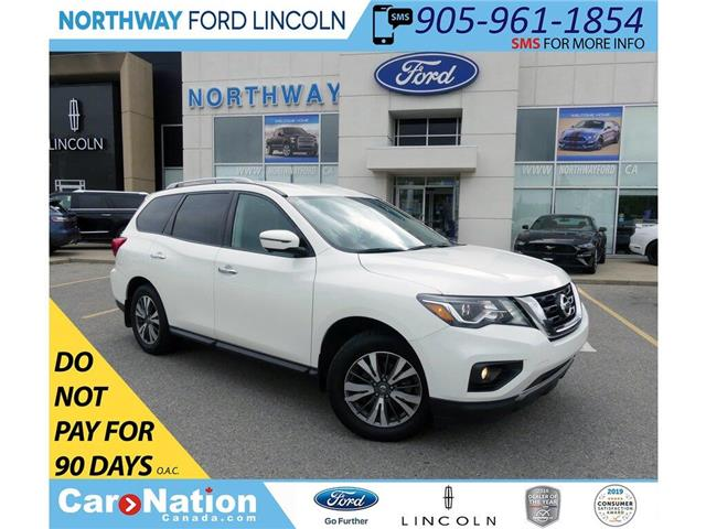 2017 Nissan Pathfinder SL | AWD | HTD LEATHER | 3 ROW | PWR LIFTGATE | (Stk: DR299) in Brantford - Image 1 of 49