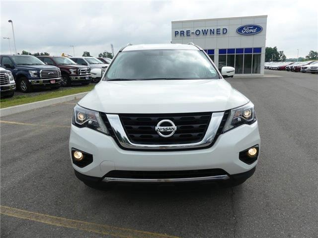 2017 Nissan Pathfinder SL | AWD | HTD LEATHER | 3 ROW | PWR LIFTGATE | (Stk: DR299) in Brantford - Image 2 of 49