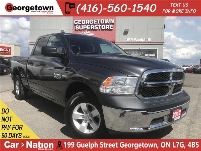 2017 RAM 1500 SXT   5.7L  4X4   6'4 BOX   27K PWR GRP  SAT RADIO (Stk: P12164) in Georgetown - Image 1 of 25