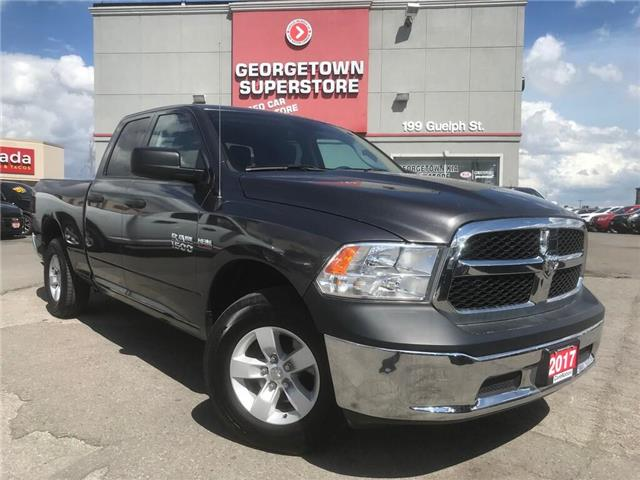 2017 RAM 1500 SXT   5.7L  4X4   6'4 BOX   27K PWR GRP  SAT RADIO (Stk: P12164) in Georgetown - Image 2 of 25