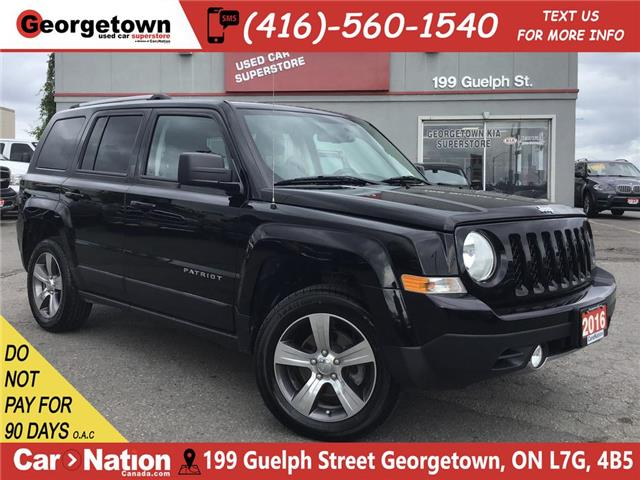 2016 Jeep Patriot Sport/North|HIGH ALTITUDE |4X4|LEATHER|ROOF (Stk: P11947A) in Georgetown - Image 1 of 25