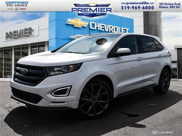 2018 Ford Edge Sport (Stk: P19163) in Windsor - Image 1 of 29