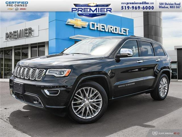 2018 Jeep Grand Cherokee Overland (Stk: P19165) in Windsor - Image 1 of 29