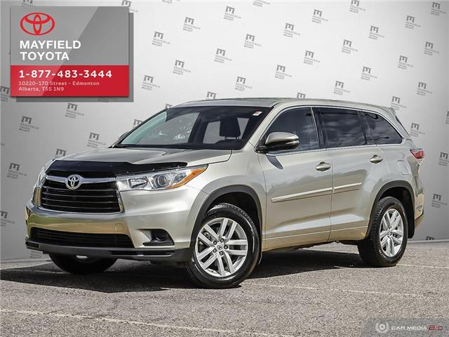 2014 Toyota Highlander LE (Stk: 192150) in Edmonton - Image 1 of 20