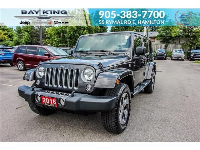 2016 Jeep Wrangler Unlimited Sahara (Stk: 197610A) in Hamilton - Image 1 of 19
