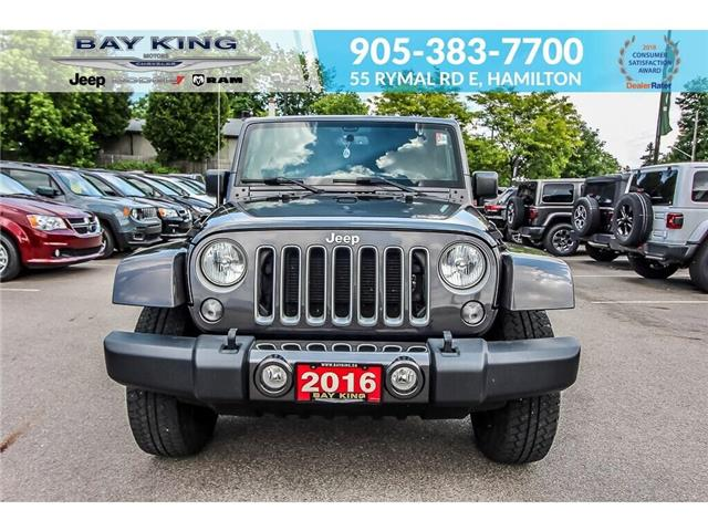 2016 Jeep Wrangler Unlimited Sahara (Stk: 197610A) in Hamilton - Image 2 of 19