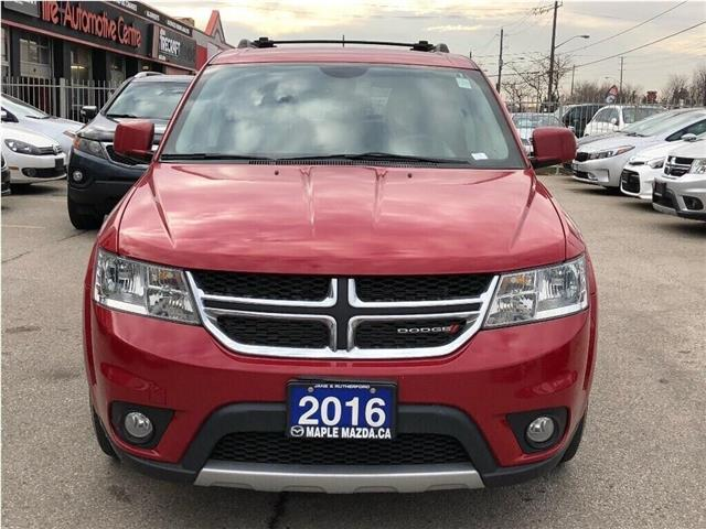 2016 Dodge Journey R/T (Stk: SF113) in North York - Image 8 of 27
