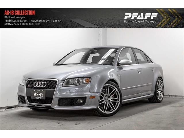 2007 Audi RS 4 4.2L (Stk: V4590A) in Newmarket - Image 1 of 21