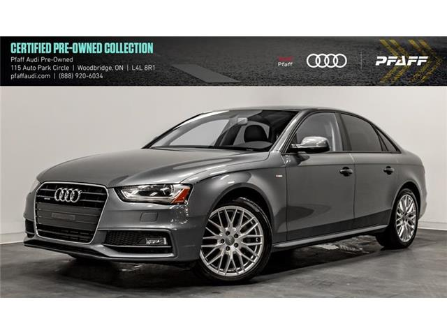 2015 Audi A4 2.0T Komfort (Stk: C6748) in Woodbridge - Image 1 of 22