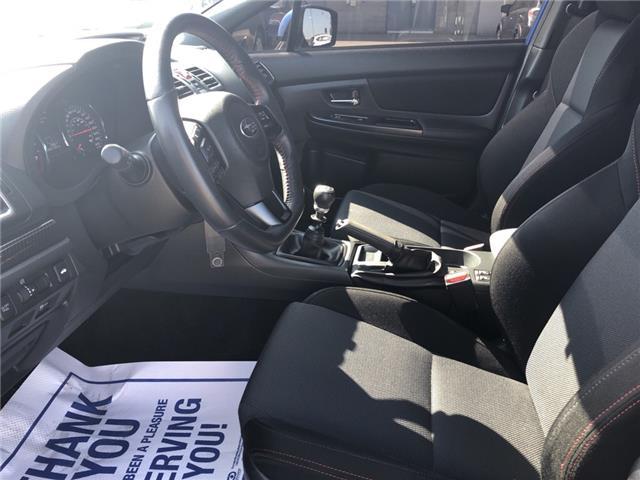 2018 Subaru WRX Sport (Stk: 19SB633A) in Innisfil - Image 11 of 18