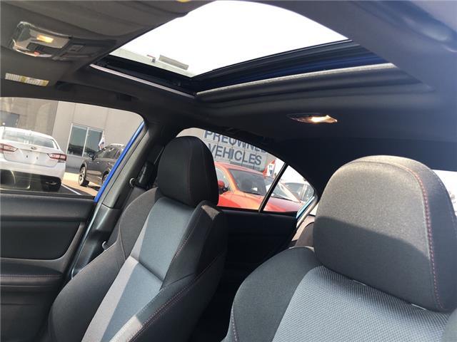 2018 Subaru WRX Sport (Stk: 19SB633A) in Innisfil - Image 12 of 18