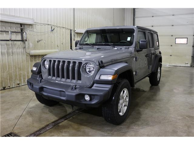 2019 Jeep Wrangler Unlimited Sport (Stk: KT097) in Rocky Mountain House - Image 1 of 22